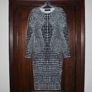 Antonio Valenti Fitted Dress Sz 40